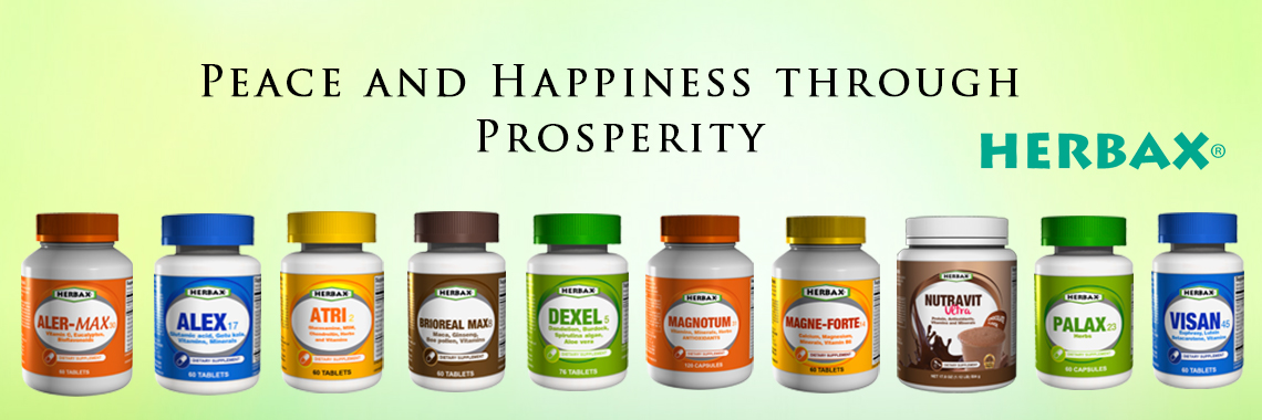 Herbax banner image of peace and happiness